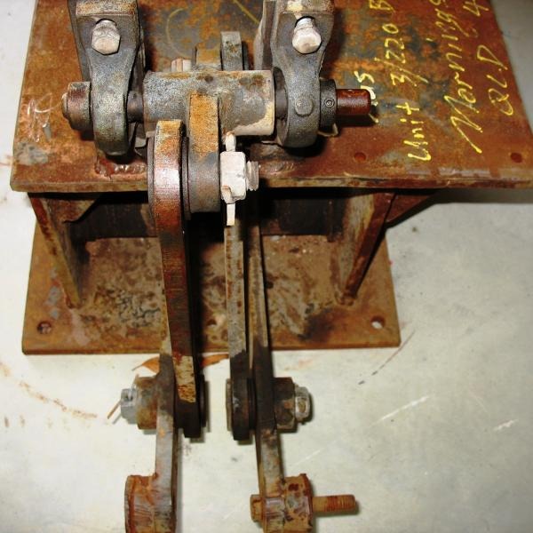Swing pedal used on old Marion Draglines