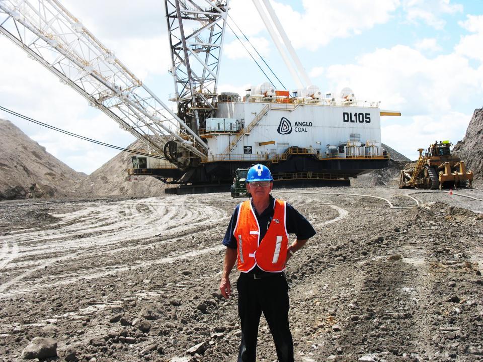Eric Owen at Mt. Lindsay  Mine2